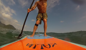 prancha stand up paddle, kalua sup