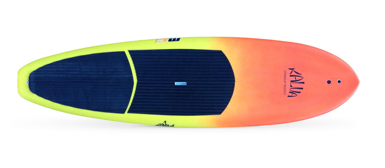 "c8ee865cd Prancha de stand up paddle + Kit Kanaloa 10 x32"" Degradê Orange ..."